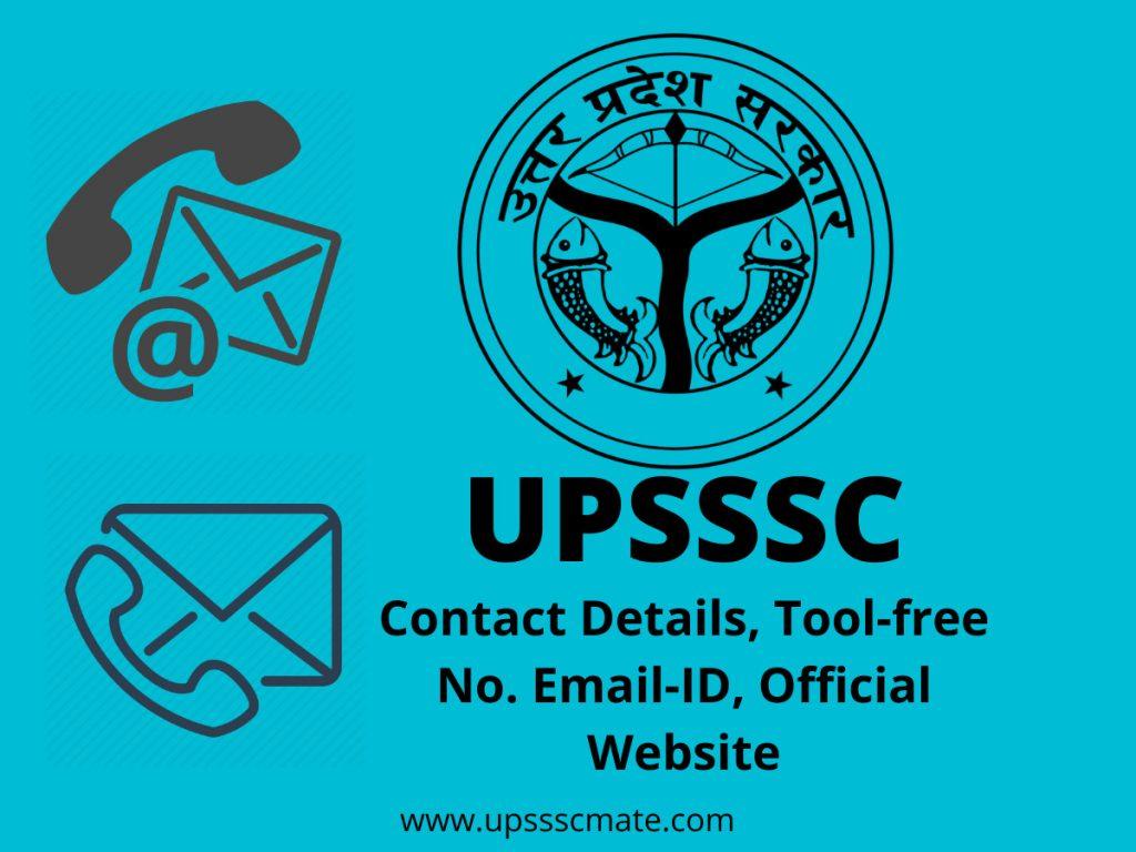 UPSSSC Contact Details