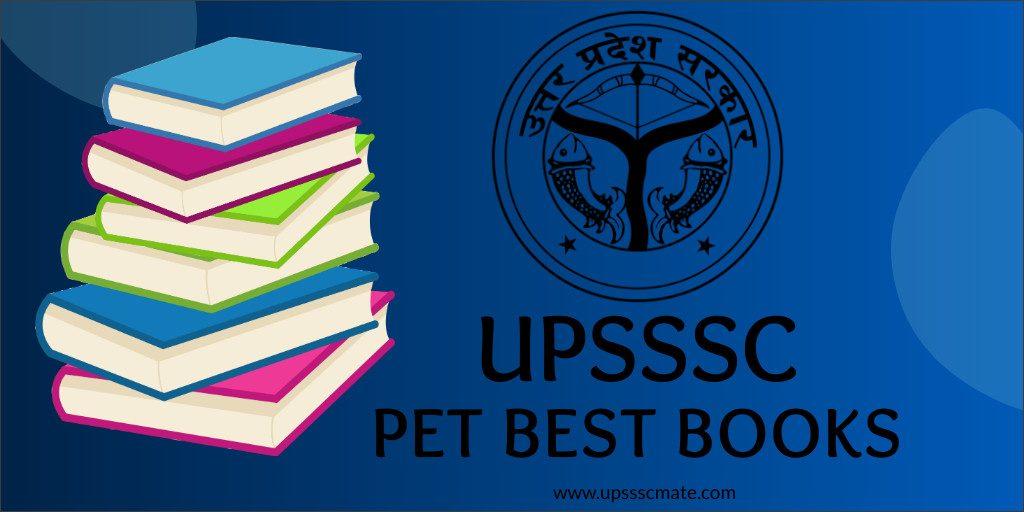 Upsssc PET best books