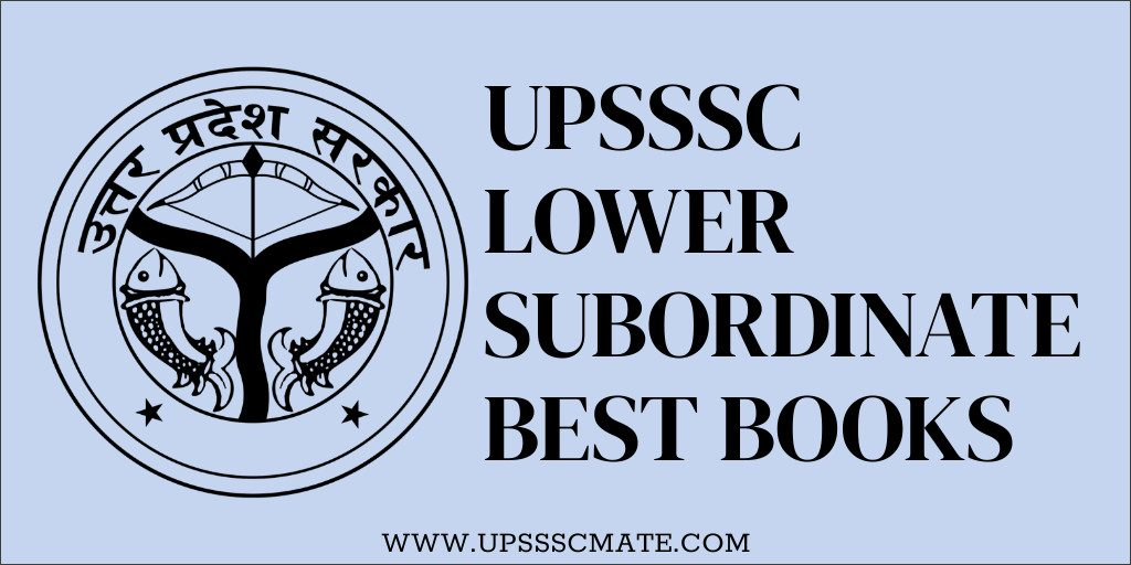 Upsssc Lower Subordinate Best Books