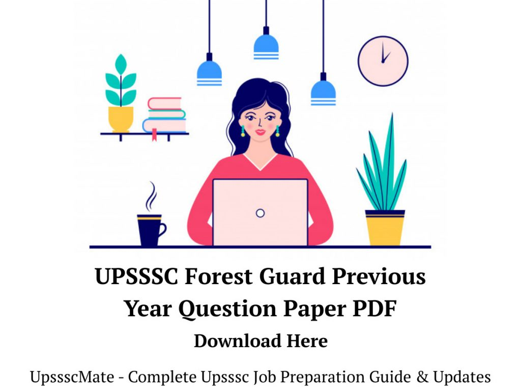 Upsssc Forest Guard Previous Year Question Paper Pdf