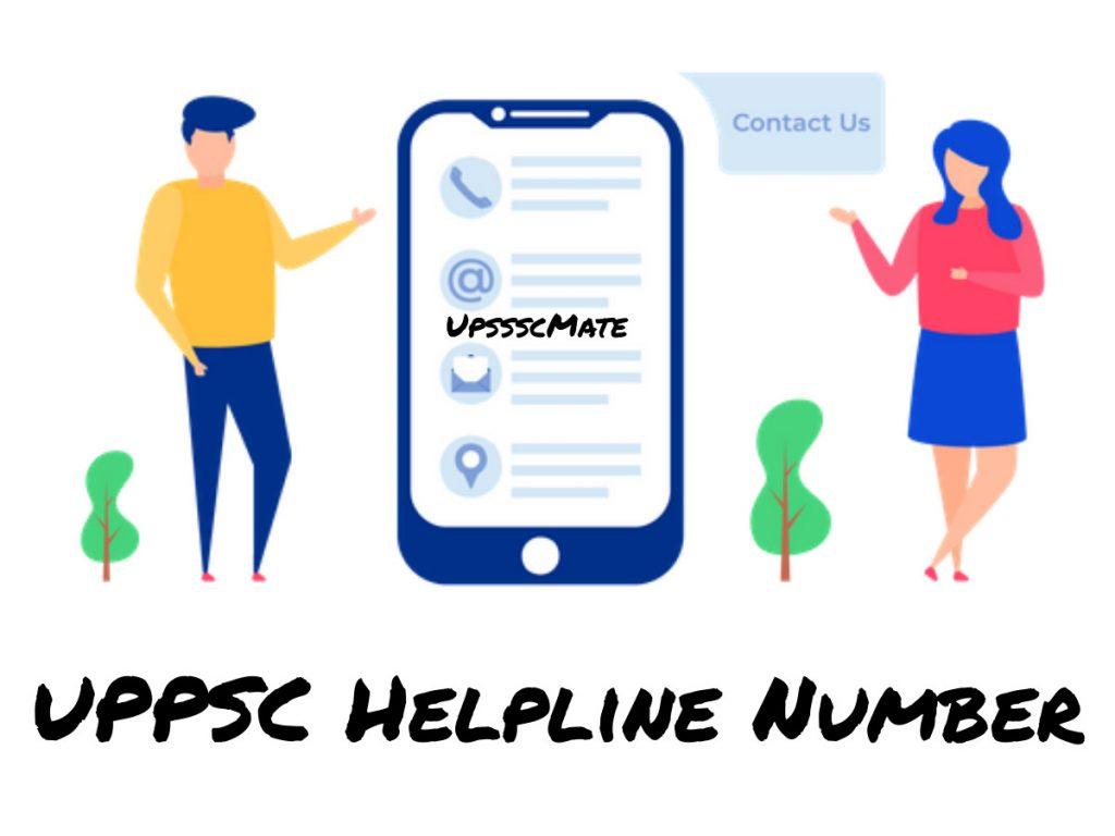 Upsssc Helpline Number