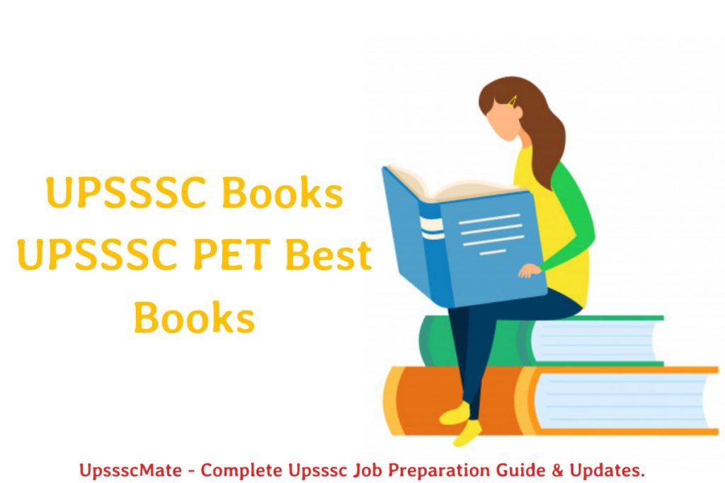 Upsssc Pet books
